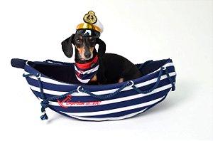 Toca para Cachorros e Gatos Barquinho Marinheiro