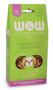 Petisco Natural para Cachorros O Fantástico Peito de Frango com Alecrim 50g