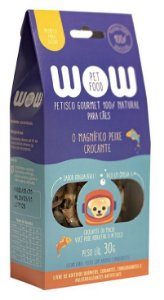 Petisco Natural para Cachorros O Magnífico Peixe Crocante 30g