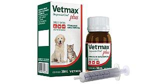 Vermífugo Vetmax Plus Suspensão Oral para Cachorros e Gatos