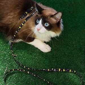 Peitoral com Guia para Gatos Energy