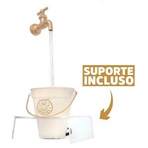 Fonte Bebedouro para Gatos MagiCat Gold com Suporte