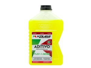 Aditivo Para Radiador Sintético Pronto Uso Koube Amarelo