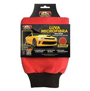 Luva de Microfibra Proauto Com Punho Para Lavar Carros Motos