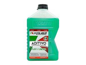 Aditivo Radiador Verde Concentrado Sintético Koube 1l