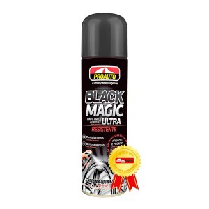 Limpa Pneus Spray Black Magic Proauto Pretinho Alto Brilho