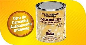 Cera de Carnaúba Para Madeiras Max Brilho incolor- 900 ml