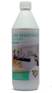 Cera Resistente Piso De Madeira Acetinada 1 litro- W&W Química