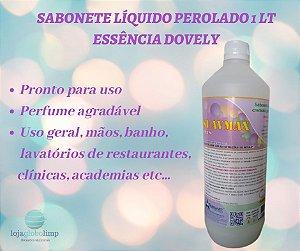 Sabonete Líquido Cremoso Perolado- Essência Dovely- 1 litro