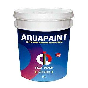 Tinta Aquapaint para demarcação viária - Base de Água - 18 L