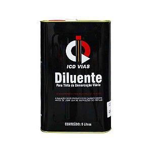 Diluente (solvente) para tintas de demarcação viária