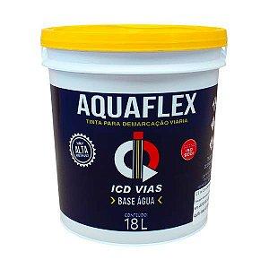 Tinta Aquaflex para demarcação viária - Base de Água - 18 L