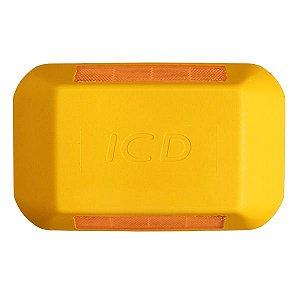 Tachão refletivo Bidirecional - Amarelo - ICD Vias