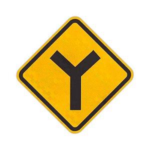 """Placa Bifurcação em """"Y"""" A-9"""