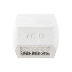 Tacha refletiva Monodirecional - Branca - Tipo I - ICD Vias
