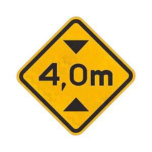 Placa Altura limitada A-37