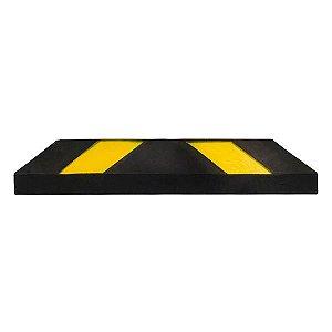Bate-rodas de borracha para sinalização