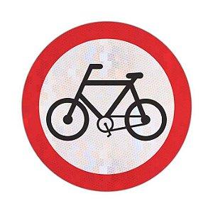 Placa Circulação exclusiva de bicicletas R-34