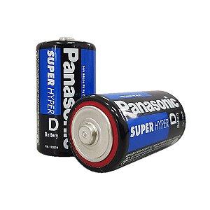 Pilha Panasonic D - Grande