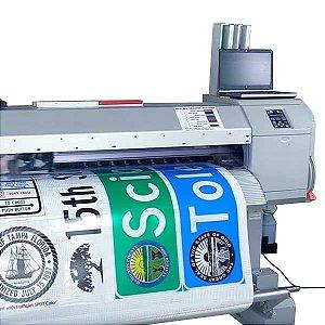 Impressão digital personalizada em película refletiva