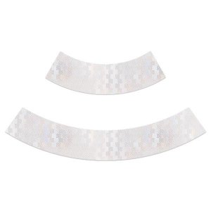 Adesivo refletivo para cone de sinalização - Branco