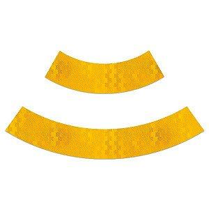 Adesivo refletivo para cone de sinalização - Amarelo