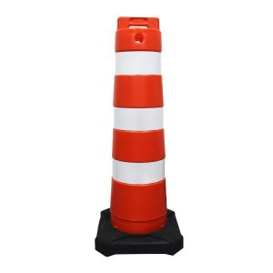 Cone barril refletivo - 110 cm