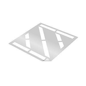 Gabarito de vinil adesivo - Faixa zebrada