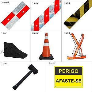 Kit Para Caminhões - Segurança e emergência