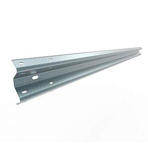 Lâmina para Defensa metálica - Perfil W - 4 metros