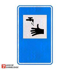 Placa Serviço sanitário (SAU-11)