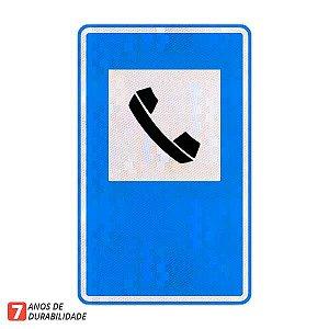 Placa Serviço telefônico (SAU-06)