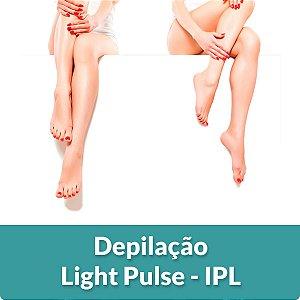 3 sessões de Depilação - Light Pulse IPL (Axila, Faixa de Barba ou Buço)