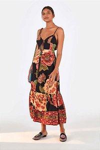 Vestido Cropped Floral