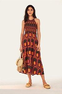 Vestido Midi Suco de Abacaxi
