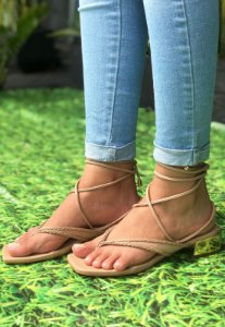 Sandália de Amarração