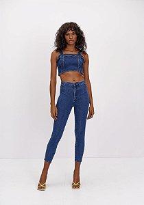 Calça Jeans Skinny Super High