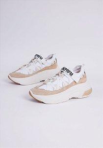 Sneaker com Texturas Passador Lnç Prfm