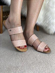 Rasteira rosa