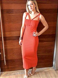 Vestido Laranja M