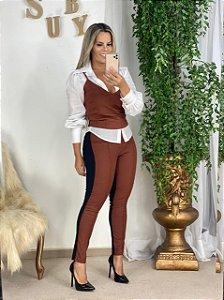 Calça Vesta Frente Resinada