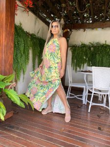 Vestido Cropped Abacaflor