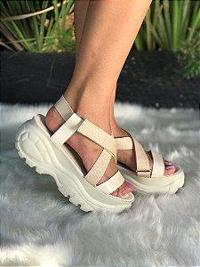 Sandália Papete Flatform