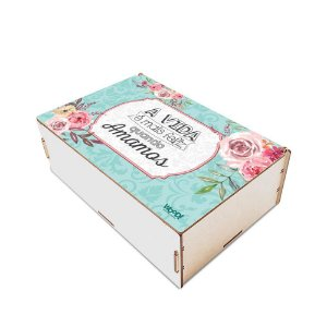 Caixa organizadora - Vida Feliz