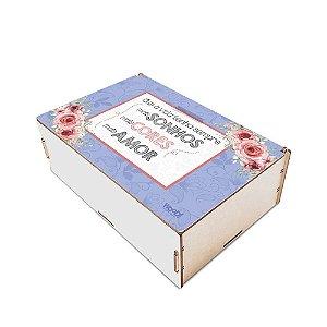 Caixa Organizadora - Sonhos, Cores, Amor