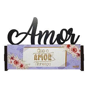 Nome Decorativo - (Amor) Amor floresça