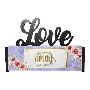Nome Decorativo - (Love) Espalhe Amor