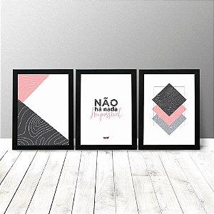 Kit Quadros - Não há nada impossível