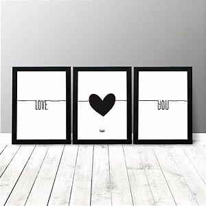 Kit Quadros - Love