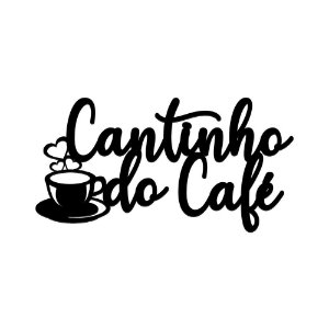 Nome de Parede - Cantinho do Café I